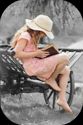 book-girl-grass-261887